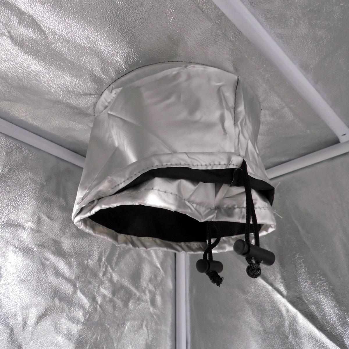 Espace de culture d 39 int rieur m2 pour lampe mh et hps for Tente de culture interieur