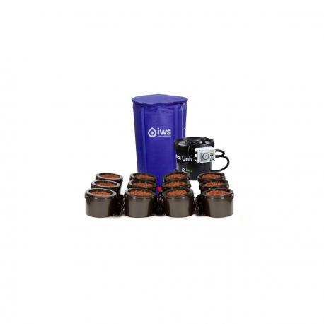 IWS - Flood & Drain Basic 12 pots - réservoir 250 litres