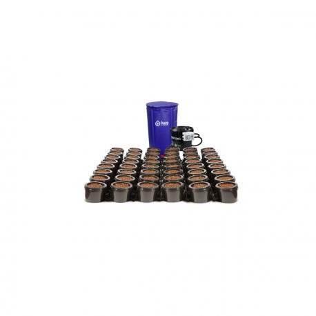 IWS - Flood & Drain Basic 48 pots - réservoir 400 litres