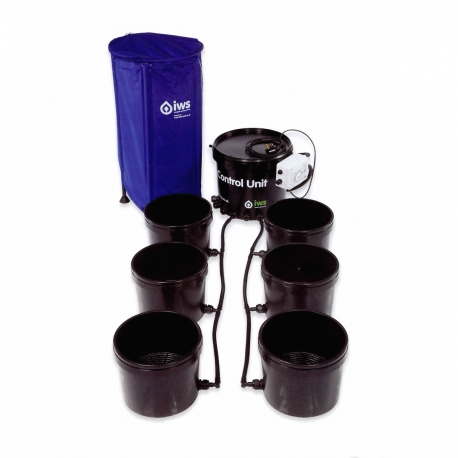 IWS - Flood & Drain Basic 6 pots - réservoir 100 litres