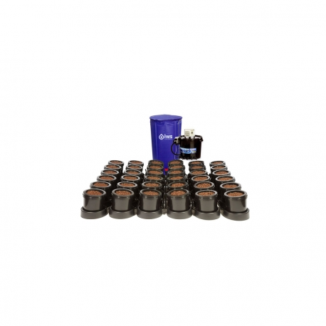 IWS - Flood & Drain Remote 36 pots - réservoir 400 litres