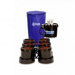IWS - Flood & Drain Remote 6 pots - réservoir 100 litres