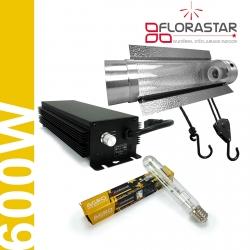Kit lampe 600W Electro Florastar Cooltube - Agro
