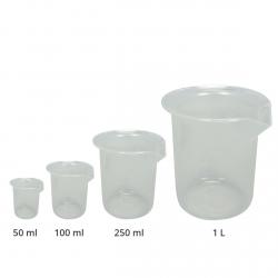 Pack de verre doseur - 50-100-250-1000ml