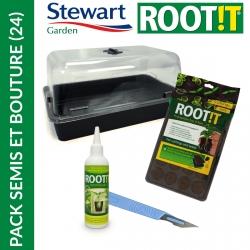 Pack semis et boutures Essential (24) - Stewart Garden