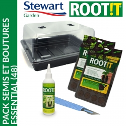 Pack semis et boutures Essential (48) - Stewart Garden
