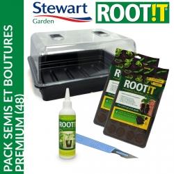 Pack semis et bouture Premium (48) - Stewart Garden