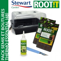 Pack semis et boutures Thermo Essential (48) - Stewart Garden