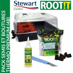 Pack semis et boutures Thermo Premium (48) - Stewart Garden