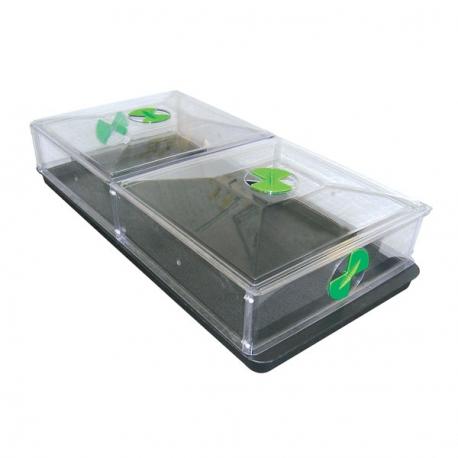 Serre VITOPOD grande 110x52x21cm - Greenhouse Sensation