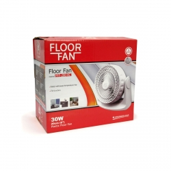 VENTILATEUR FLOOR FAN PLASTIQUE 20cm - Advanced Star