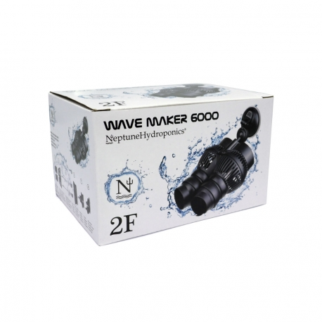POMPE DE BRASSAGE - 12W - 6000 L/H - 2 rotors - Neptune Hydroponics
