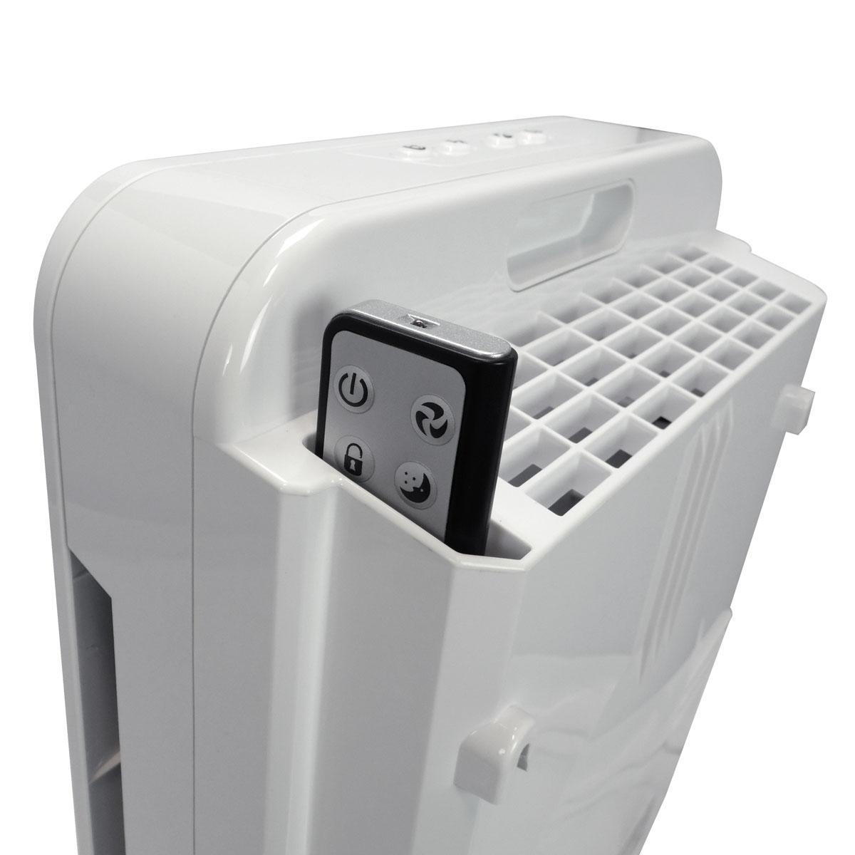 purificateur d 39 air qlima a25 avec filtre hepa con u pour. Black Bedroom Furniture Sets. Home Design Ideas