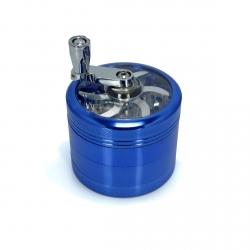 GRINDER ALU ClearView Moulin - 4 PARTS - Ø 62 mm - Bleu