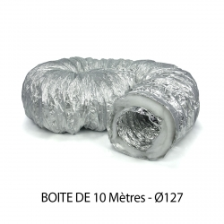 Gaine SonOuate Ø127mm - 10 mètres