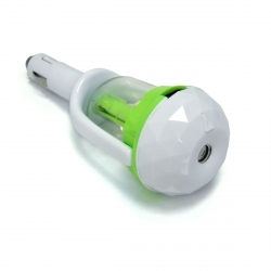 ONA DIFFUSEUR VOITURE Vert + recharge fresh 50ml