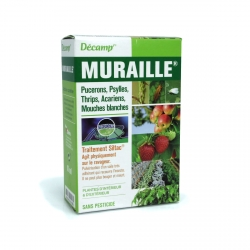 MURAILLE PUCERONS, PSYLLES, THRIPS, MOUCHES BLANCHES, ACARIENS