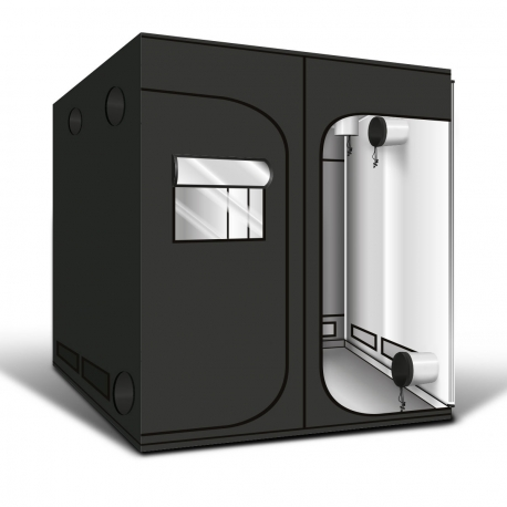 GREENCUBE - G-Pro+ Diamond 240x240x220 - Tubes 25mm - H 220 cm