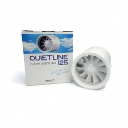 Ectracteur QUIETLINE Vents - Ø 125mm - 197 m³/h