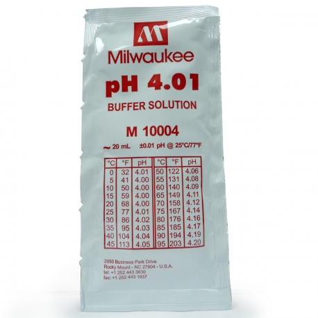 Solution pH 4.01 - 20ml - Milwaukee