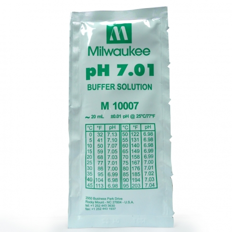 Solution pH 7.01 - 20ml - Milwaukee