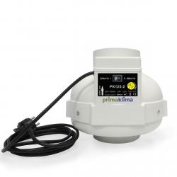 Extracteur 2 vitesses 220 et 400m3/h - 125mm - Prima Klima