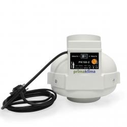 Extracteur 2 vitesses 390 et 760m3/h - 150mm - Prima Klima
