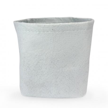 Pot En Tissu Pour Plante 1 Litre Blanc 9 X 9 X 11 Cm Hydrozone