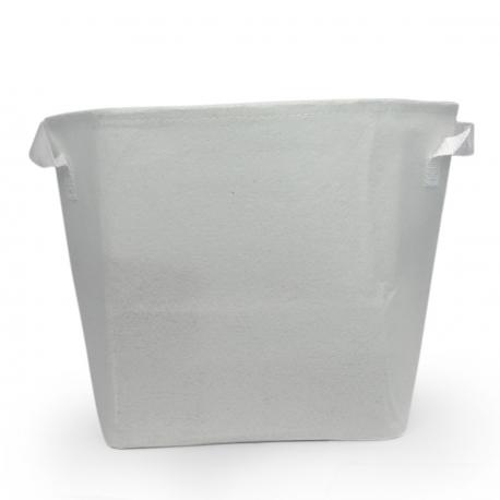 Pot géotextile 7 litres TEXPOT - blanc