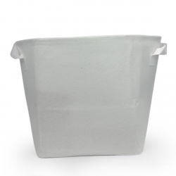 Pot géotextile 10 litres TEXPOT - blanc