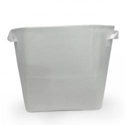 Pot géotextile 15 litres TEXPOT - blanc