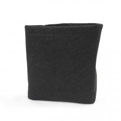 Pot géo-textile 1 litre TEXPOT - noir