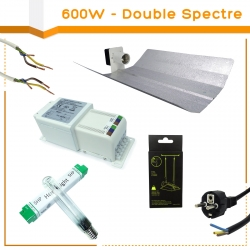 Kit lampe 600W Hortilight + HORTI GEAR - Agro
