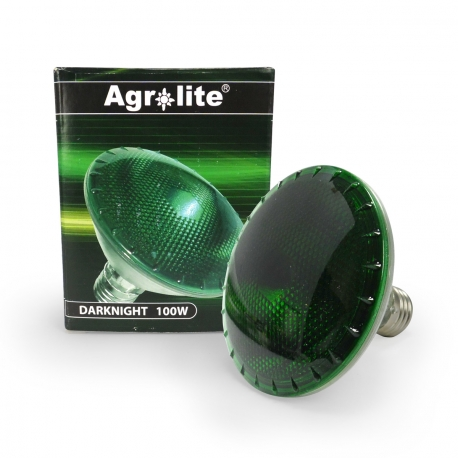 Dark Night - Ampoule verte 100W Agrolite