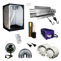 Pack Tente DarkStreet 600W Electro Lumatek + Cooltube