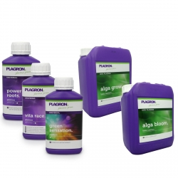 Pack engrais Alga Grow & Bloom 5 litres - PLAGRON