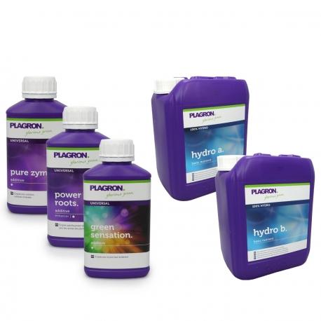 Pack engrais Hydro 5 Litres - PLAGRON
