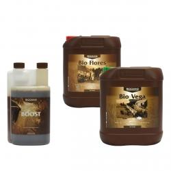 Pack engrais Bio VEGA & FLORES - 5 litres - BIOCANNA