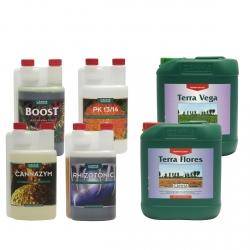 Pack engrais Terra VEGA & FLORES - 5 litres - CANNA