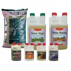 Pack terreau Professional + engrais Vega & Flores - CANNA