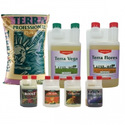 Pack terreau Professional Plus + engrais Vega & Flores - CANNA