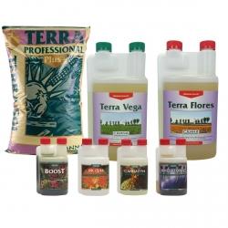 Pack terreau Professional Plus + engrais Vega & Flores - CANNA
