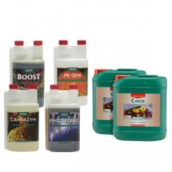 Pack engrais COCO A & B - 5 litres - CANNA