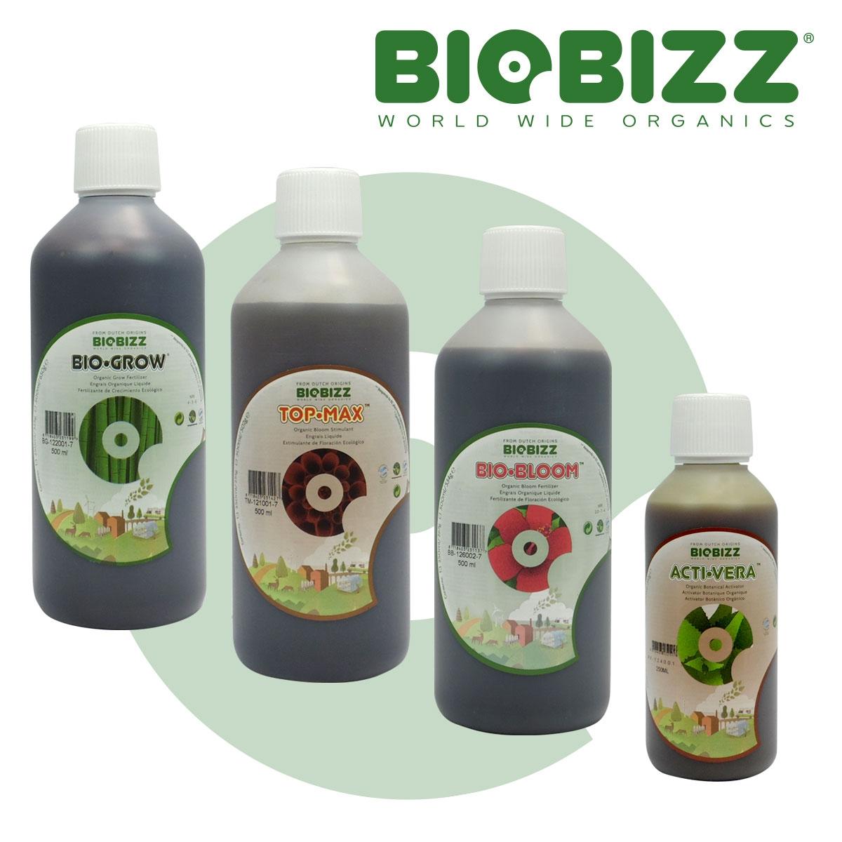 pack engrais naturel biobizz croissance floraison et booster. Black Bedroom Furniture Sets. Home Design Ideas