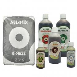 Substrat All.Mix 50 litres + engrais terre 1 litre - BIOBIZZ