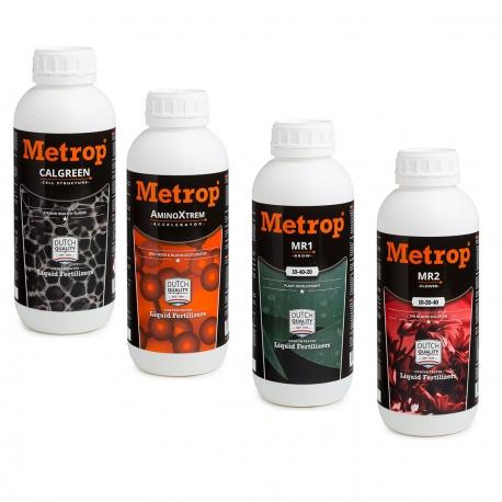 Pack engrais METROP 1 litre - Terre, Hydro, Coco