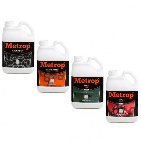 Pack engrais METROP 5 litres - Terre, Hydro, Coco