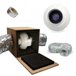 Pack No Noise Vents 355m3/h - diamètre 125mm