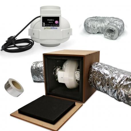 Pack No Noise Prima Klima 950m3/h - diamètre 200mm
