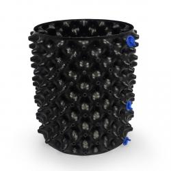 Air Pruning Pot de 15 litres noir